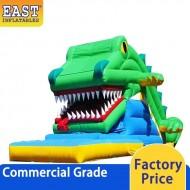Crocodile Snappy Inflatable Slide