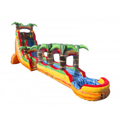 Palm Tree Inflatable Water Slide