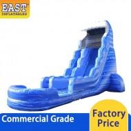 Big Blue Inflatable Water Slide