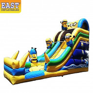 Minion Inflatable Water Slide