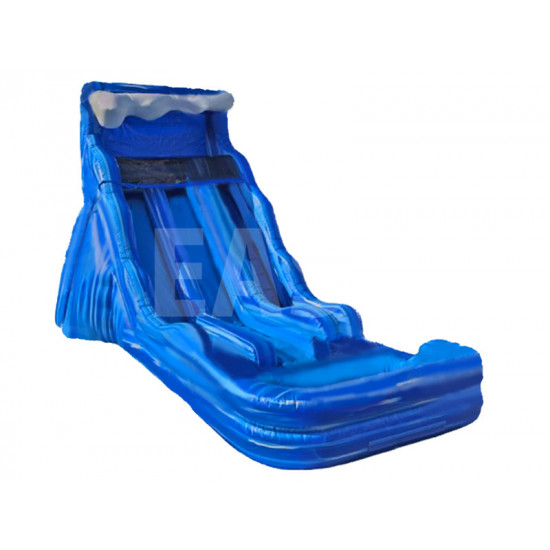 Blue Wave Dual Water Slide