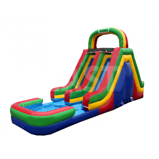 Backyard Inflatable Water Slide