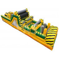 40ft Inflatable Obstacle Course