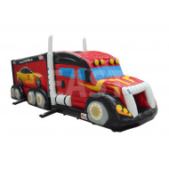 Lorry Inflatable Obstacle Course