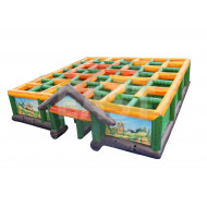 Inflatable Maze