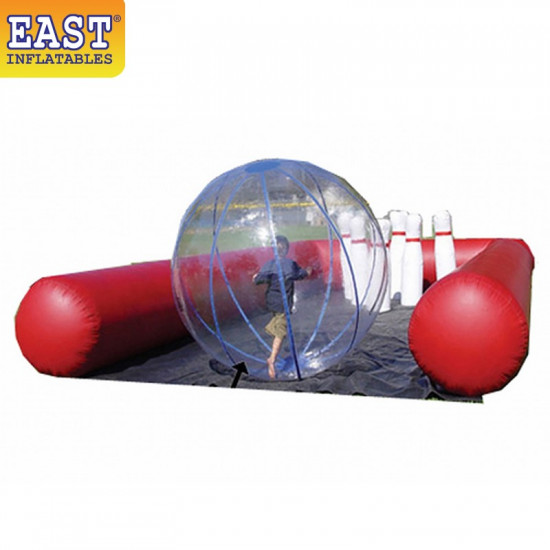 Inflatable Bubble Bowling