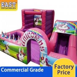 Unicorns Toddler Bouncy Castle
