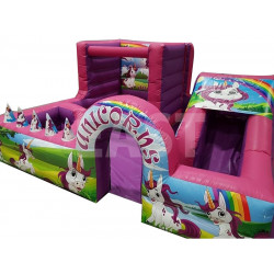 Unicorns Toddler Bouncy Castle