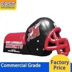 Giant Inflatable Football Helmet Tunnel