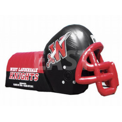 Giant Inflatable Football Helmet Tunnel