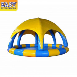 Sealed Inflatable Swimming Pool Cover Tent