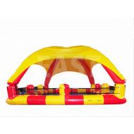 Inflatable Water Pool With Tent