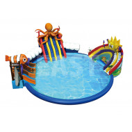 Inflatable Ground Water Park