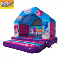 Shimmer And Shine Bouncy Castle