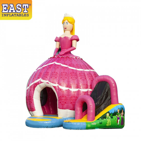 Princess Disco Dome Bouncy Castle