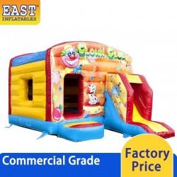 Clown Bouncy Castle With Slide