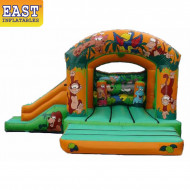 Jungle Inflatable Jumping Castle