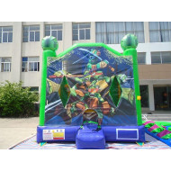 Ninja Turtle Bounce House