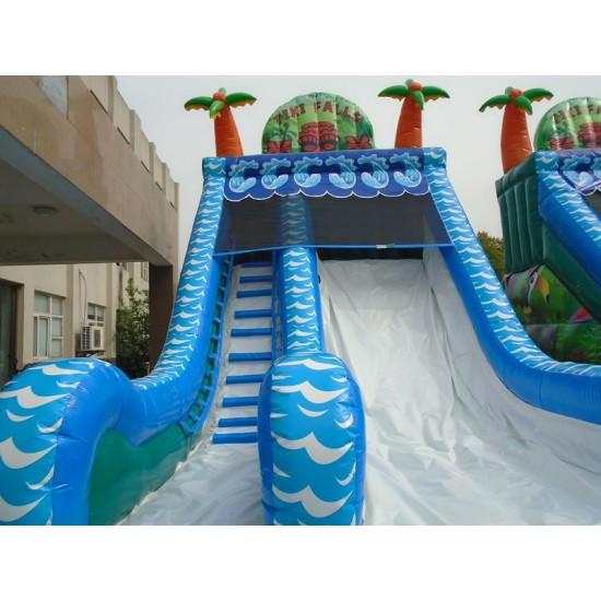 Inflatable Tiki Falls Water Slide