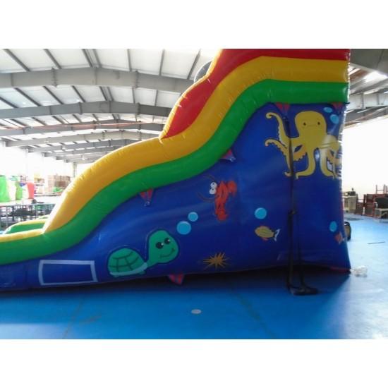 Shark Inflatable Water Slide