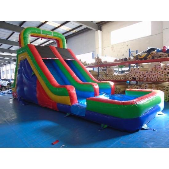 Backyard Inflatable Water Slide