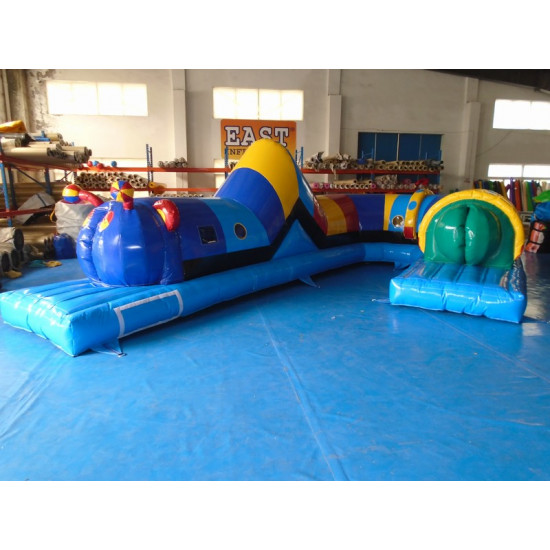 Inflatable Caterpillar Tunnel