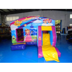 Princess Bouncy Castle With Slide