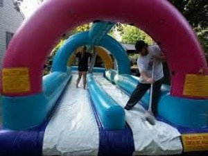 How to clean a bounce house?