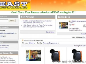 East Inflatables EBay Retail store develops in Direct-selling Worldwide